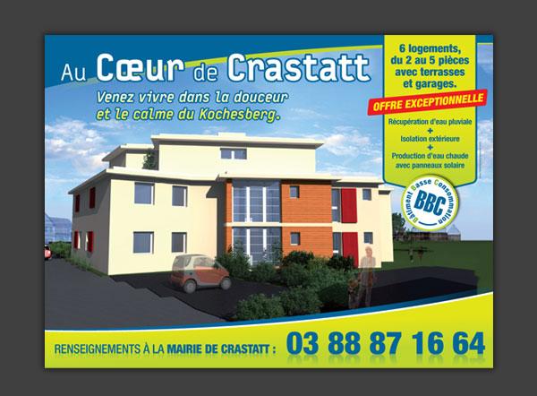 4x3 pour la mairie de Crastatt