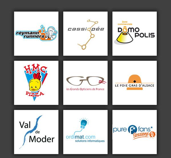 Logotypes divers et variés.